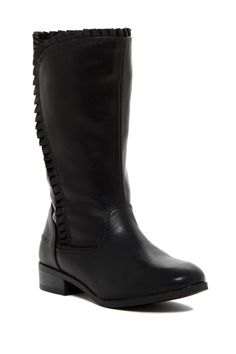 Shirley Ruffle Boot (Toddler & Little Kid) by Nine West on @nordstrom_rack