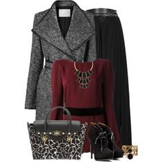 Maxi in Winter, created by spherus on Polyvore