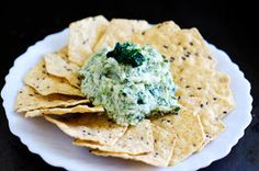 Sweet Roots {Infusions of Herbal Living}: Creamy Vegan Spinach Artichoke Dip