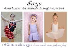Pdf Sewing patterns for gymnastics, dance, circus, swimwear, active wear and…