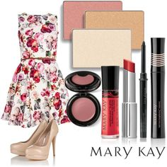 First Day of Spring, created by marykayus on Polyvore Get it at www.marykay.com/jackiemoore25