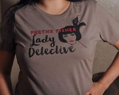 Miss Fisher's Murder Mysteries Phryne Fisher T-Shirt or 3/4 Sleeve Raglan