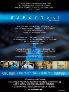 This documentary illustrates the blatant corruption running rampid throughout the FDA and big PHARMA companies. I know without a doubt if myself or one of my loved ones had cancer this is the man I would seek treatment from.  www.topdocumentaryfilms.com