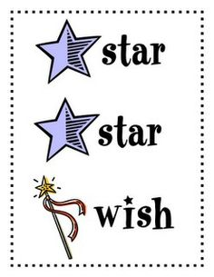 Two stars and a wish.