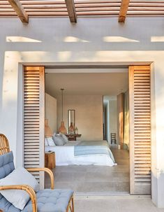 BEDROOM DESIGN IDEAS - Find your favorite bedroom photos here. Browse through images of inspiring bedroom design ideas to create your perfect home. Home Bedroom, Bedroom Decor, Bedroom Ideas, Bali Bedroom, Bedroom Lighting, Master Bedrooms, Dream Bedroom, Modern Bedroom, Outdoor Bedroom