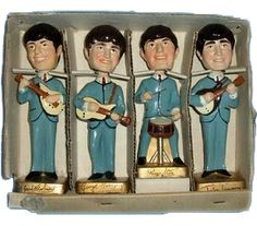 I loved my Beatles bobble head dolls. I don't remember what happened to them, but someone is selling these dolls on Ebay with a starting bid of $1499. :o)
