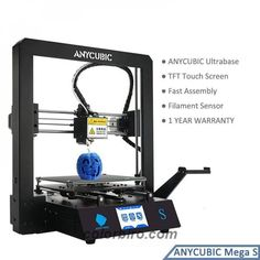 Wow! Get this ANYCUBIC Mega S 3D Printer for only 335.81$ #3DPrinters #3DPrintersandParts #ConsumerElectronics Fused Deposition Modeling, Sd Card, 3d Printer, Consumer Electronics, Amazing