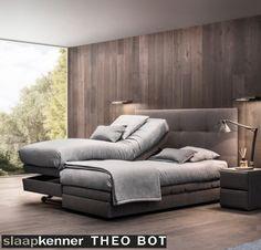 Comforte boxspring tweepersoons elektrisch zorgbed met bedlift,hoog/laag design merk:revor Slaapadvies op maat: www.theobot.nl
