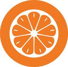 orange food Pinterest