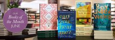 CAN YOU HEAR ME? is Waterstones' Thriller of the Month for June!