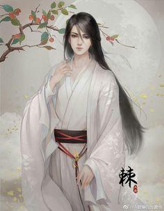 Fantasy Art Men, Beautiful Fantasy Art, Beautiful Anime Girl, Ancient Beauty, Ancient Art, Ancient China, Boy Art, Art Girl, Chinese Drawings