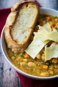When it's cold outside, this hearty soup will keep you toasty and warm inside.