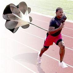 Brand New Speed Resistance Training Parachute Running Chute Soccer Football Training Parachute Umbrella Black