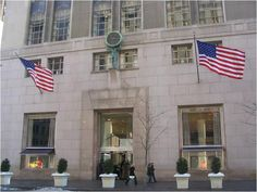 Tiffany & Co. 5th Avenue  -- the one & only Tiffany's in NYC!! (Where I got my pea pod necklace)