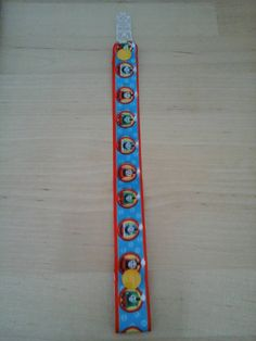Check out this item in my Etsy shop https://www.etsy.com/uk/listing/257648355/thomas-the-tank-clip-strap