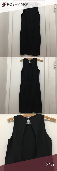 NWOT H&M LBD Brand New Without Tags H&M body on little black dress!  Never worn. Bought last season and left it in my closet. Has open back, single button elastic closure. Size small. Very sexy, great with a pair of heels for date night or a night out with the girls. No trades please! H&M Dresses Mini