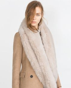 MAXI FAUX FUR STOLE-View all-Accessories-WOMAN | ZARA United States