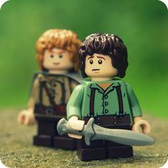 Nasty little Hobbitses Lego Motorbike, Amazing Lego Creations, Harry Potter, Lego People, Play Day, Lego Minifigs, Lego Worlds, Lego Photography, Lego Architecture