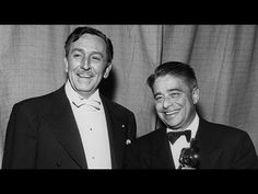 "Walt Disney presenting Dimitri Tiomkin with the Music (Music Score of a Dramatic or Comedy Picture) and Original Song Oscars® for ""High Noon"" and Alfred Newman with the Music (Scoring of a Musical Picture) Oscar® for ""With a Song in My Heart"" at the 25th Annual Academy Awards® in 1953. Hosted by Bob Hope."