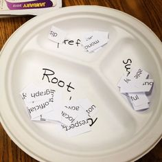 Sorting prefixes, suffixes, and roots