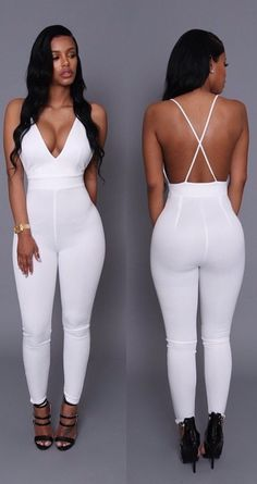 All White Bustier Two Piece Outfit | Nova Fashion pt2 ...