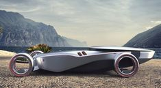 2030 Rolls Royce Eidolon Concept Car with Omni Wheel Technology for Better Maneuverability