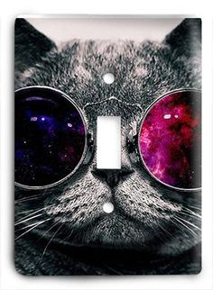 Cat In Glasses V6 Light Switch Cool Iphone 6 Wallpapers Background Wallpaper Tumblr