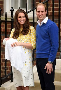 On May 2, 2015, Princess Charlotte Elizabeth Diana of Cambridge is born at St. Mary's Hospital.