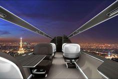 Pas de fenêtres pour les avions du futur mais des écrans qui affichent le paysage extérieur. En plus d'être pratique, cette technologie permettrait de gagner du poids et donc de réduire la consommation de carburant.