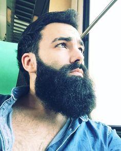 for men who love long bearded men Long Hair Beard, Beard Head, Epic Beard, Full Beard, Great Beards, Awesome Beards, Best Beard Styles, Hair And Beard Styles, Hairy Men