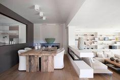 Mesa. Bookstorage Design Tag: Ultra Modern Spanish House Barcelona ...