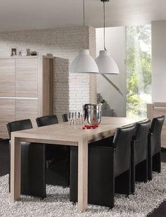Table de salle à manger contemporaine CYRIANE