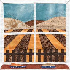 Autumn Harvest - Paper Piecing Quilt Block Pattern