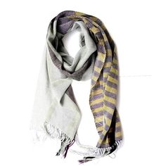 one-of-a-kind handwoven scarf