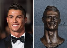 Statues of Celebrities That Look Nothing Like Them