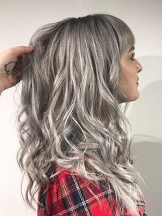 OSMO Page Liked · 10 hrs · ⛓ SILVER PLATED ⛓ OSMO IKON Medium Graphite on the roots into Light Aluminium with Silver and Pearl Intensifiers ✂️ Jeseca McMahon at Hxhair