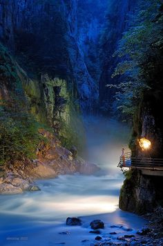 Aareschlucht,Switzerland