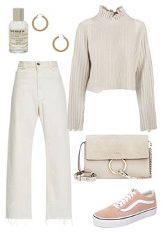"""""""Untitled #2171"""" by kellawear ❤ liked on Polyvore featuring Rachel Comey, Golden Goose, Vans, Le Labo, ERTH and Chloé"""