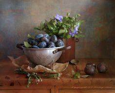 photo: мытые синие сливы ╔╗photographer: Lertsy