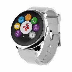 My Kronoz Montre Connectée ZeRound - Écran: 1.22 inch TFT - Bluetooth 4.0 - Batterie : Li-iOn 300mAh - ROM : 128 MB - Accéléromètre à 3 axes - Résistance à l'eau: IP56 - Appli Android et iOS gratuite - Garantie internationale: 1 an