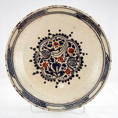 TABAK Pottery Plates, Pottery Art, Porcelain Ceramics, Ceramic Art, Traditional Tile, Turkish Tiles, Paper Clay, Tile Art, Stoneware