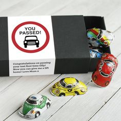 Congratulations Driving Test Pass Gift Chocolate