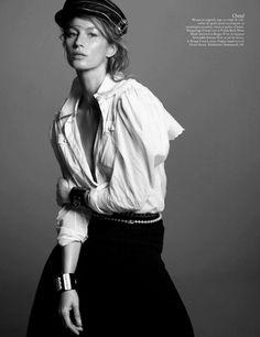 Gisele Bündchen for Vogue Brazil, December 2013