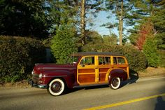 1947 Plymouth Station Wagon; image by Richard Lentinello.
