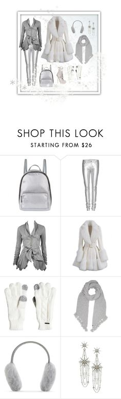 """""""Snow Stylish"""" by highly-fashionable-shark ❤ liked on Polyvore featuring STELLA McCARTNEY, Yves Saint Laurent, CO, Alexander McQueen, Roxy, UGG, Karl Donoghue, Belle Noel by Kim Kardashian, Winter and snow"""