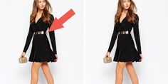 """8 Ways You Are Ruining Your Outfit Without Realizing It: """"Those stringy belt loops on the sides of your dress are making it look cheap AF. Those loops are really there so that stores have a way to display the belt on the garment when it is on the hanger. Otherwise it would get lost or you might think it was a scarf or something."""""""