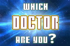I'm not a Doctor Who fan, but I want to be cool like @Amy Epps. I got 12! LOL NOBODY KNOWS WHAT YOU ARE LIKE - including, it would appear, you. But we expect great things. Even if so far you are totally unable to drive a TARDIS