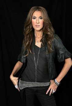 Celine Dion Cute and Sexy Photoshoot In Burbank
