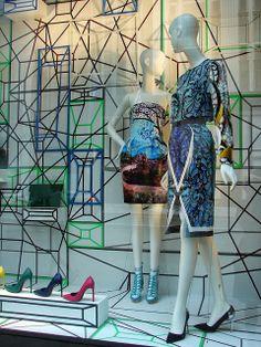 Bergdorf Retail Windows, Store Windows, Clothing Displays, Artwork Display, Visual Display, Window Art, Shop Window Displays, Shop Interiors, Visual Merchandising