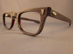 Wood glasses? Love it.